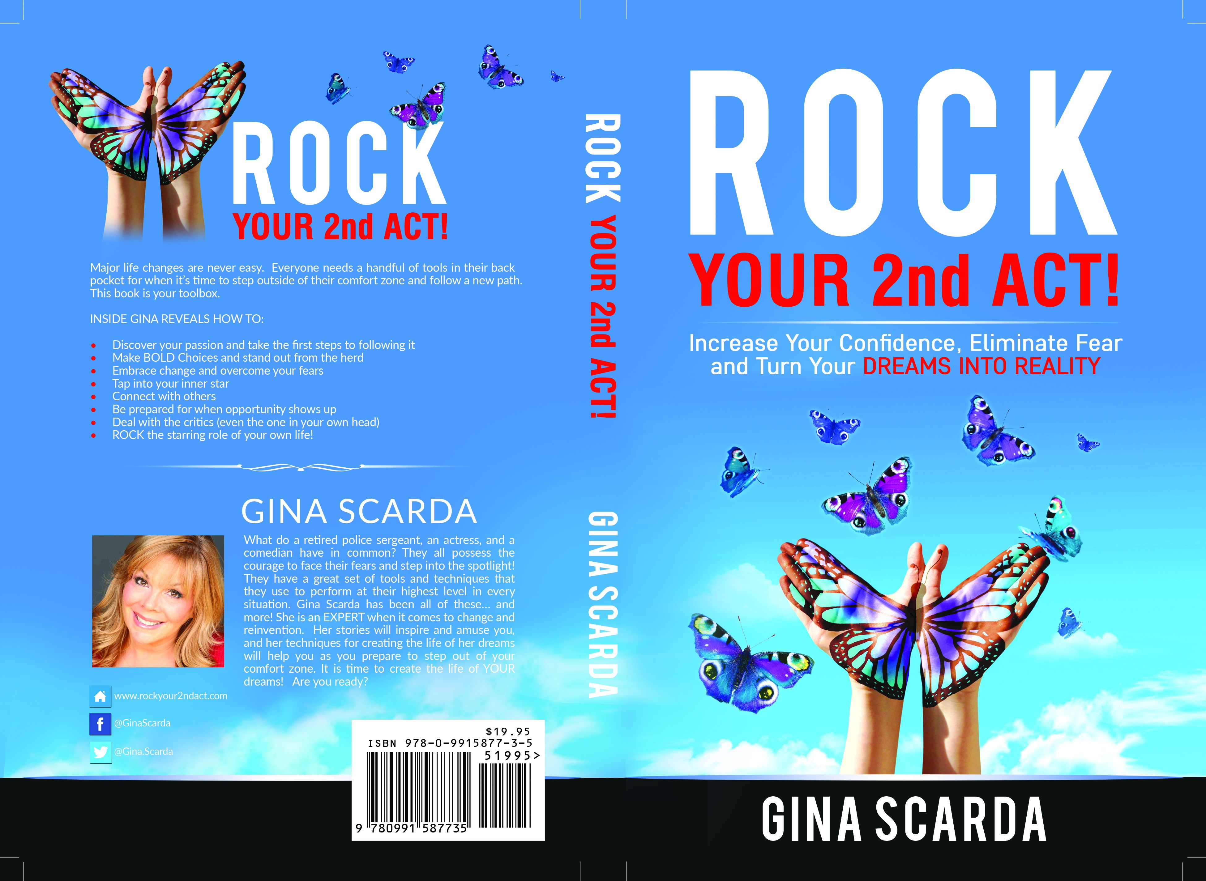 """Create a ROCKIN Book cover for """"Rock your 2nd Act- How to Move Past Fear and into the SPOTLIGHT!"""""""