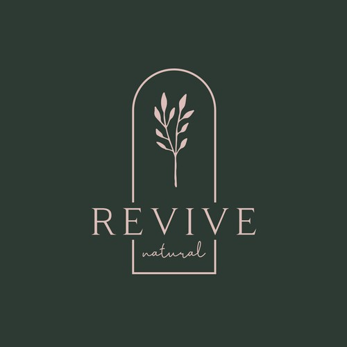 Organic logo design for a brand specialized in scent marketing and indoor air management