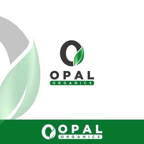 Logo Design for OPAL ORGANICS