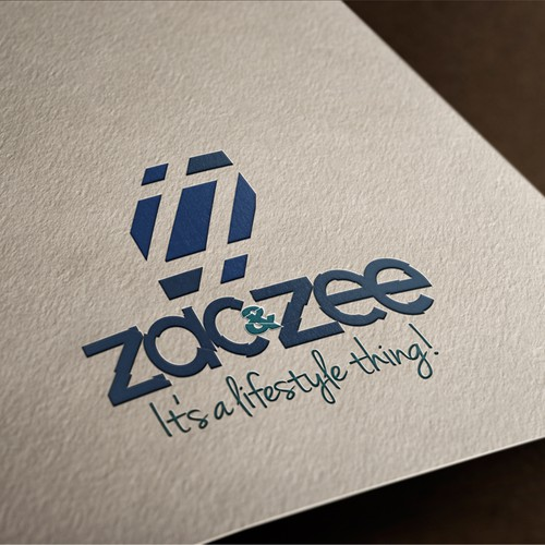 Modern simple Logo for zac&zee