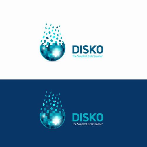 Logo for Disko app.
