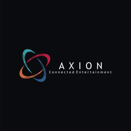 Axion Entertainment Logo design