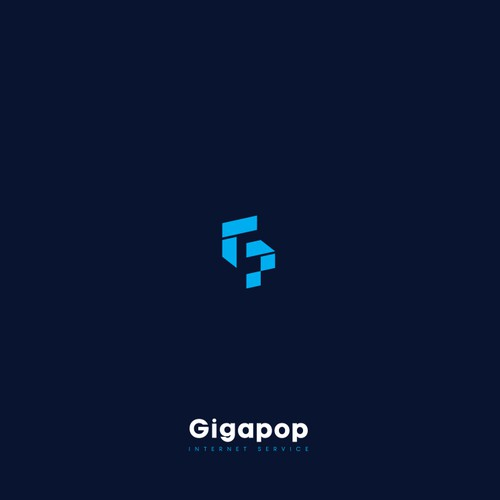 "Simple logo concept for ""Gigapop"" Internet Service"