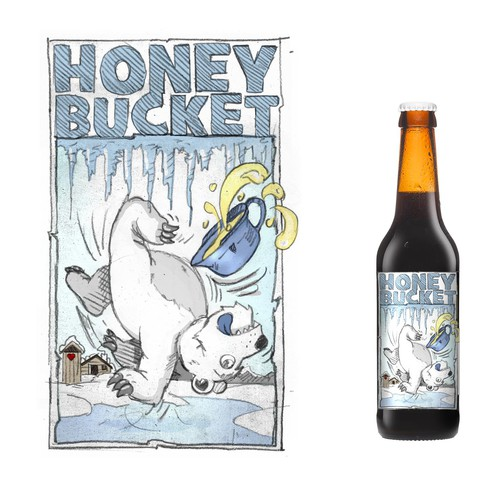 Beerlabel for alaska brewery