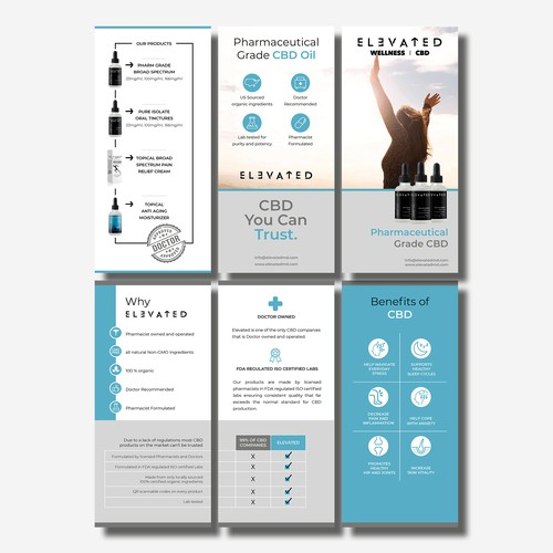 Pharmaceutical Trifold Brochure