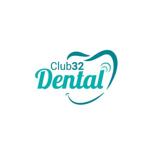 Logo For Club32 Dental