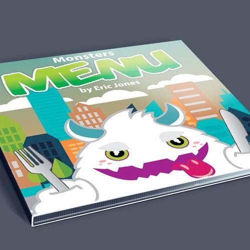 Monsters' Menu children's rhyme (CD cover)