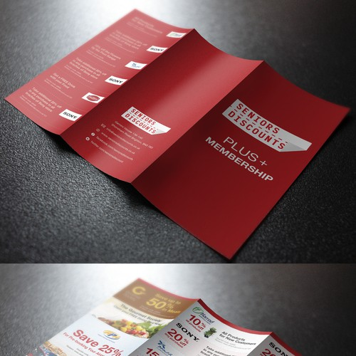 Seniors Discounts needs a new brochure design