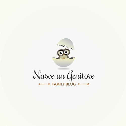 Logo for a family blog