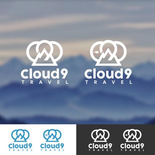 Cloud 9 Travel Logo