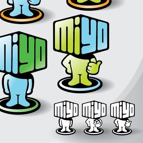 MIYO  CREATE A FUN AND WIZZFUL CHARACTER LOGO