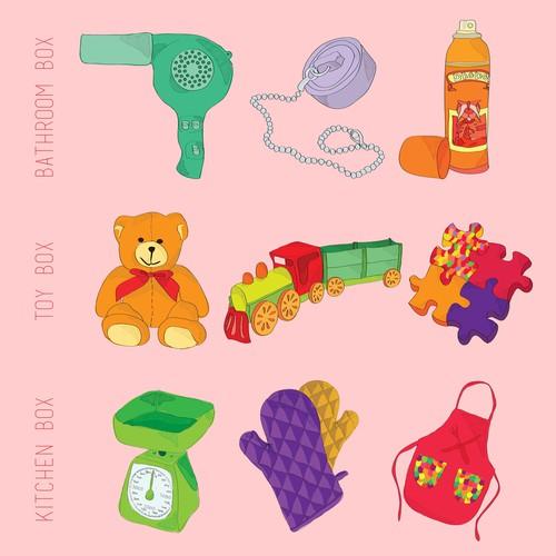 Toy Boxes - Prints