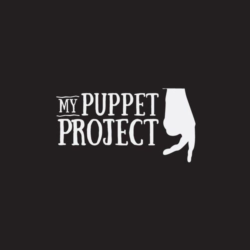 Logo for a puppet show and shadows art association