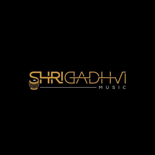 Shri Gadhvi Music Logo