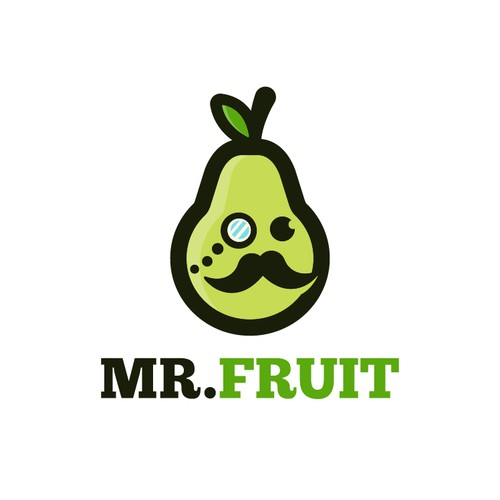 Mr. Fruit Logo