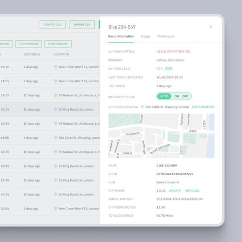 Mobility management app