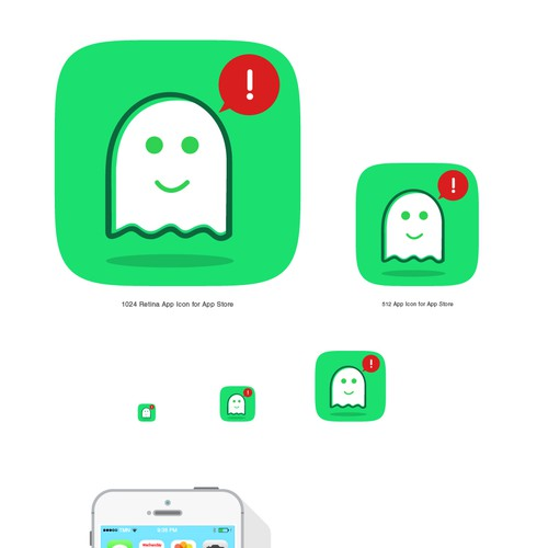 Fun Icon design for a bug finding app