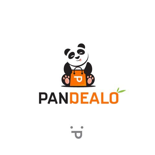 Panda e-commerce company logo