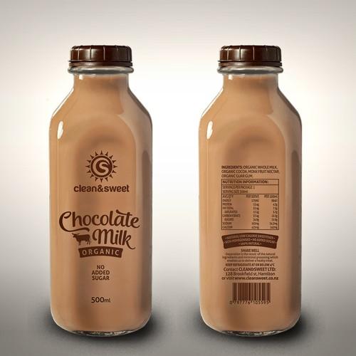 Chocolate Milk label