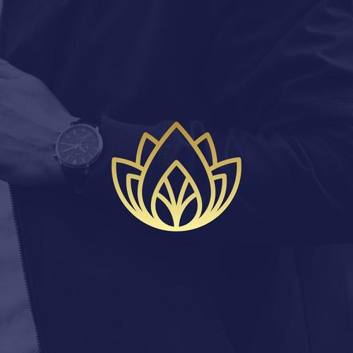 A + Flower Logo