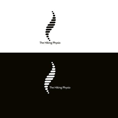 Logo voor fysiotherapie voor hikers