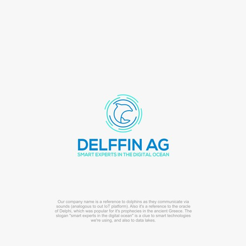 """Logo for Consulting start-up """"Delffin"""""""