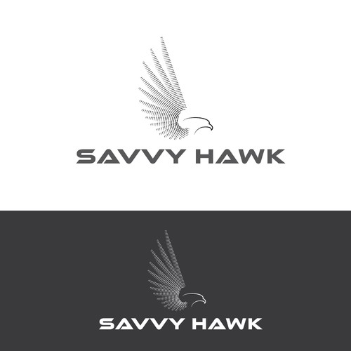 Hawk logo for software company