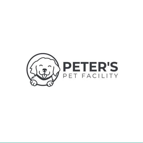 Puppy Monoline Logo