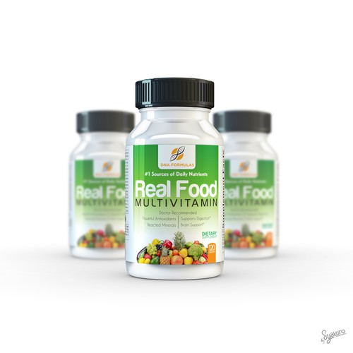 Guaranteed Winner! - Looking for Elegant & Simple Vitamin & Supplement Design