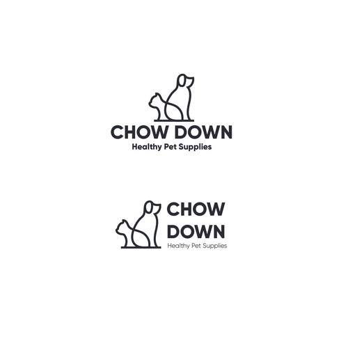 Logo concept for Chow Down