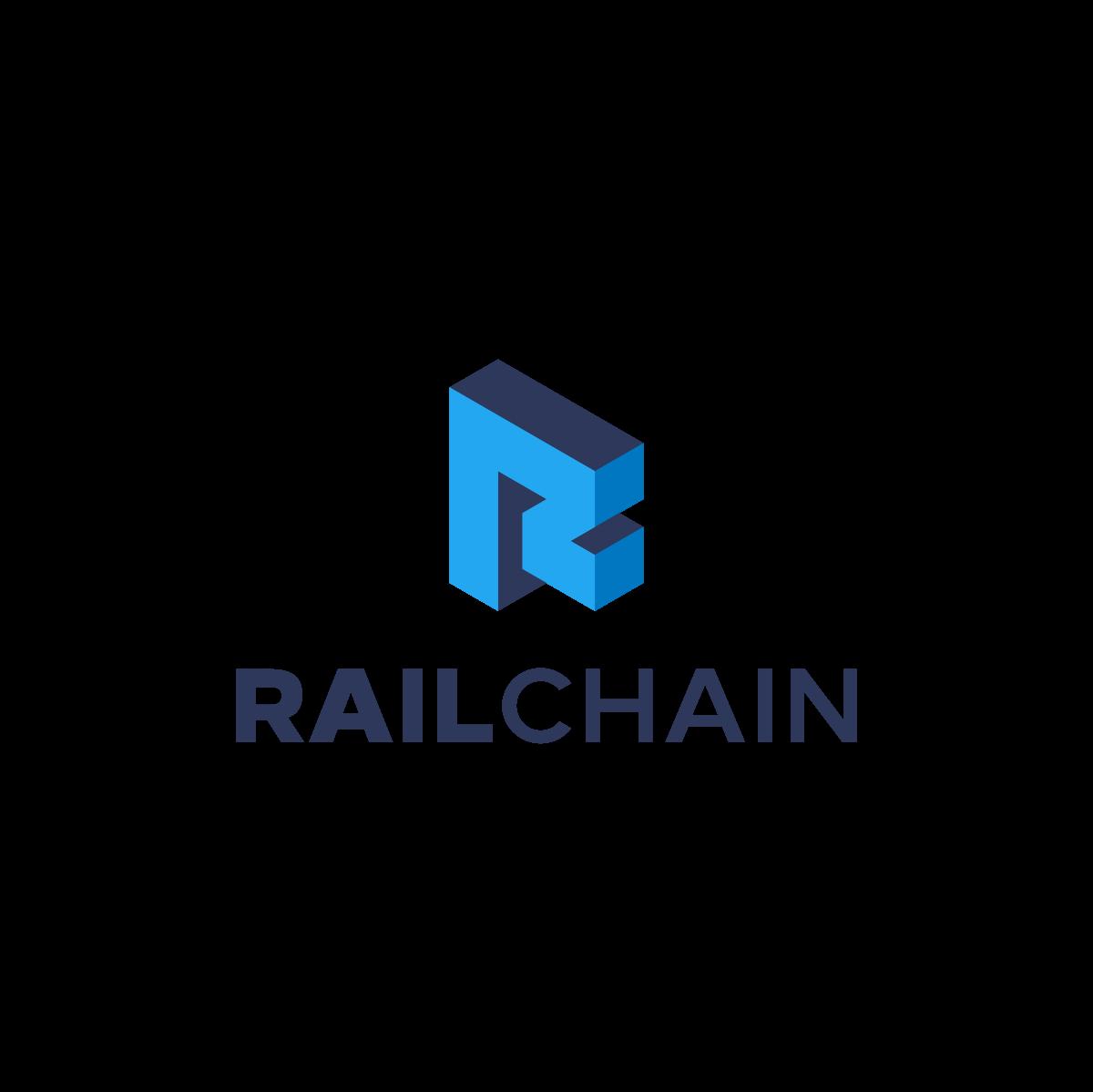 RailChain Logo Design