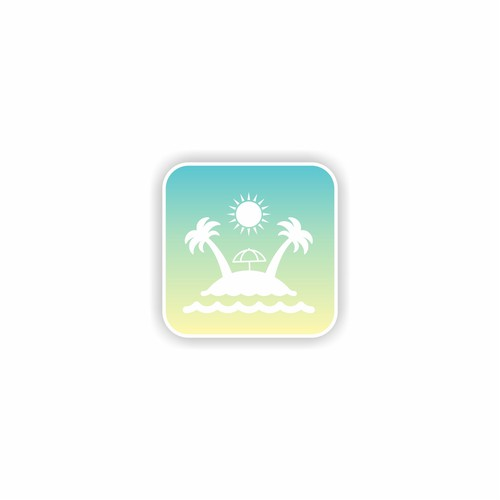 minimalist concept for apps for holiday