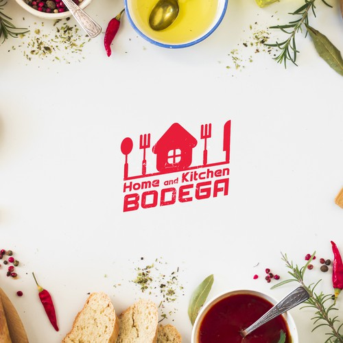 bold logo for home & kitchen bodega