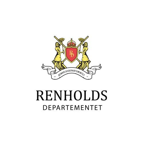 Classic logo for Renhold Departementet
