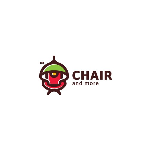 Bold logo for a furnishing company