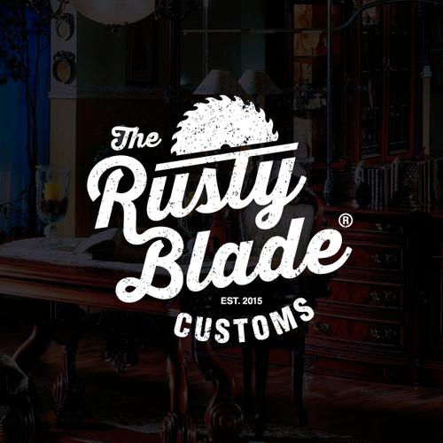 Rusty blade logo