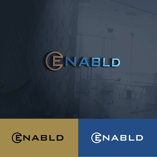 Enabld logo design