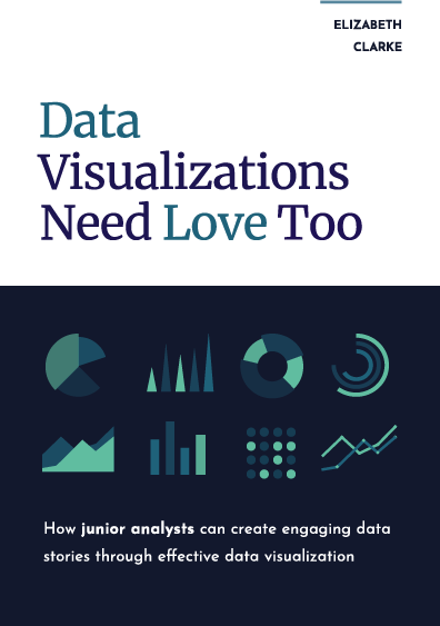 unique and creative cover that stands out for book about data visualization/data storytelling.