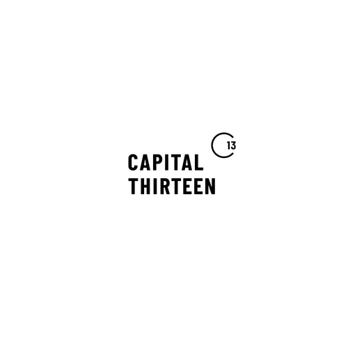 Simple logo for investment company