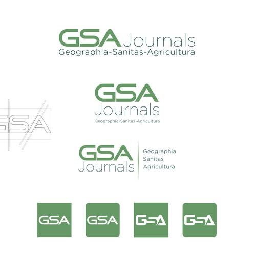 logo concept GSA Journal