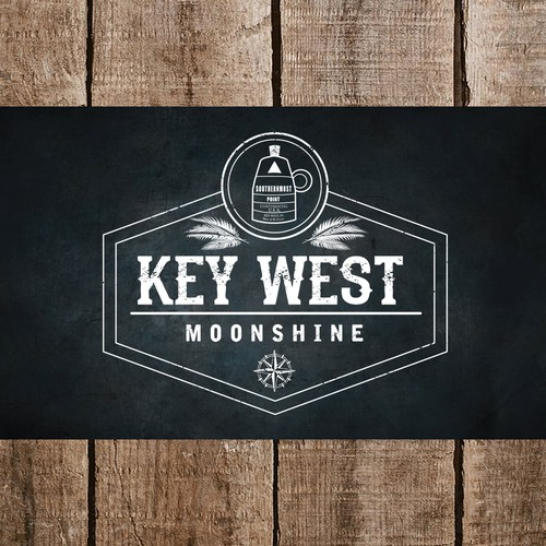 Logo for New Mooshine Restaurant/Bar in Key West Florida