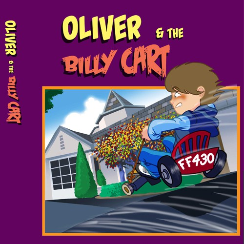 Oliver and the Billy cart; by Lou Silluzio