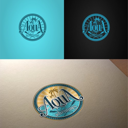 logo design for Aqua Adventures