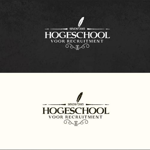 Logo concept for university
