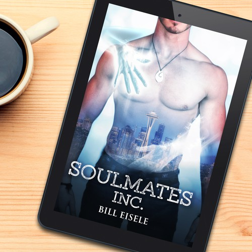Book cover design for Soulmates Inc by Bill Eisele