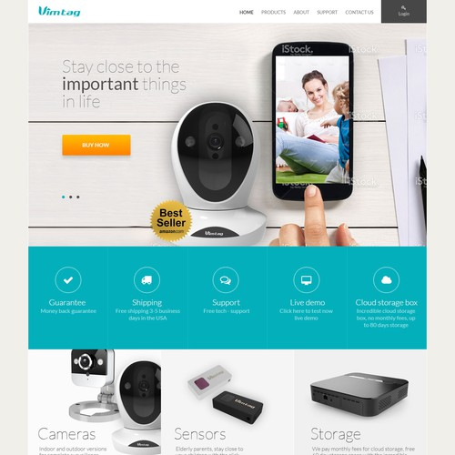 Crisp New Design for Bestselling Security Camera Brand