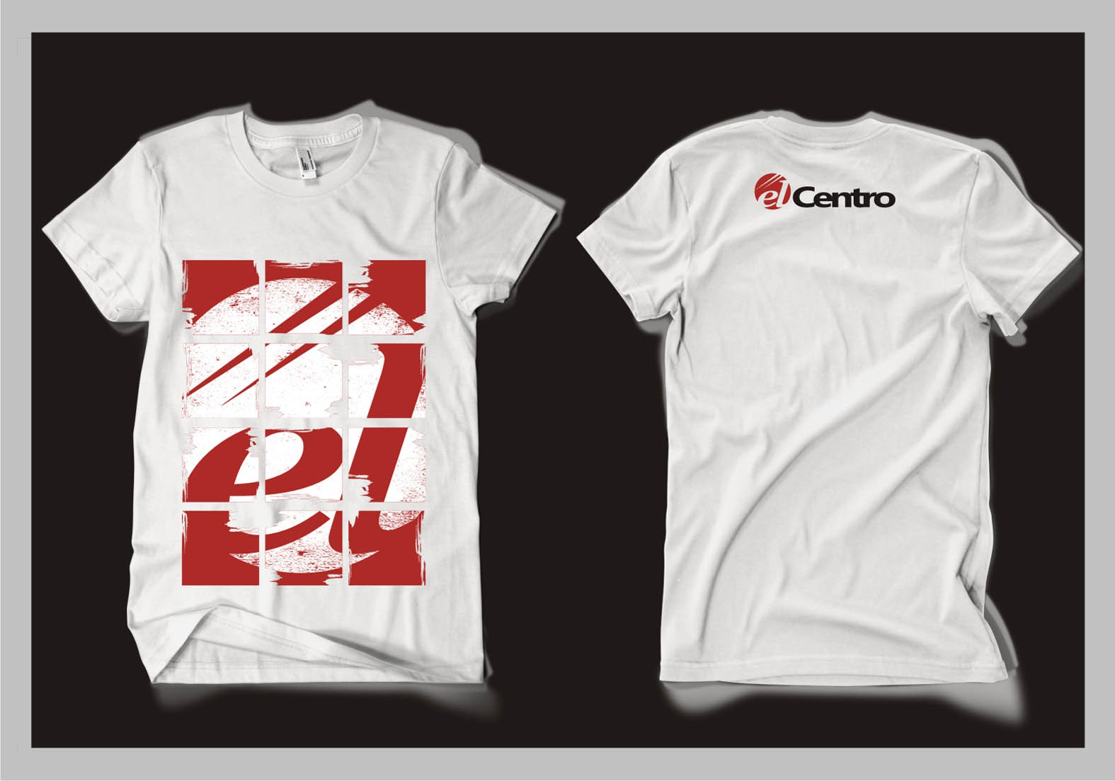 t-shirt design for El Centro
