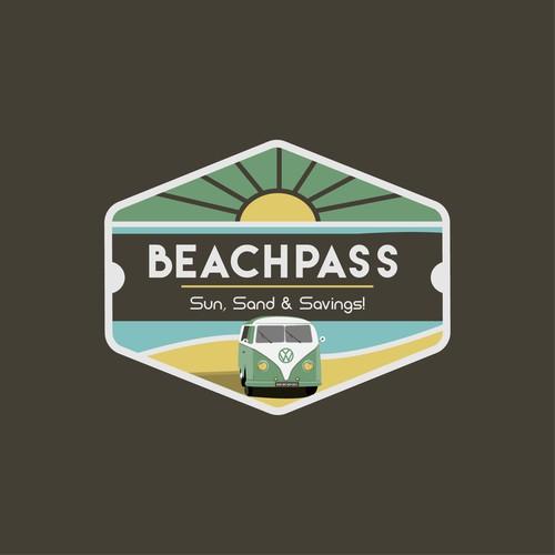 Beachpass Logo Design