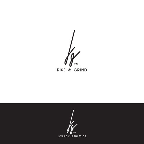 Simple and recognizable signature for an apparel company
