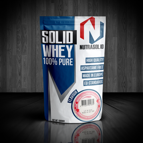 Whey protein packaging